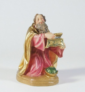 Krippenfigur König kniend Mesner-Krippe 22 cm Krippen Figur Weihnachten