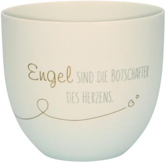 Windlicht Porzellan Franz Hübner Engel Geschenkverpackung Herz Deko