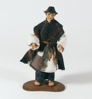 Krippenfigur Hirte mit Hut Heimat-Krippe 20 cm Krippen Figur Weihnachten - Vorschau