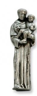 Heiliger Antonius für die Reise Hülle glasklar Heiligenfigur Begleiter