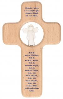 Kreuz für Kinder Vierzehn Engel 18 cm Kruzifix Holz-Kreuz Geschenkbox