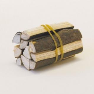 Bündel mit gespaltenem Holz handgefertigt 8 Stück Zubehör für Weihnachtskrippe