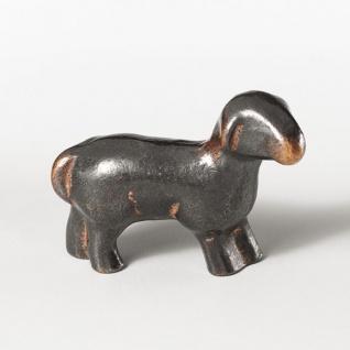 Schaf stehend 4 cm Bronze Krippen Figur Weihnachten