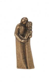 Handschmeichler Paar 7 cm Bronzefigur Andrea Zrenner Geschenkbox