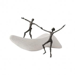 Bronzefigur Ich danke Dir 14 cm Steinguss Kött-Gärtner Mitarbeitergeschenke