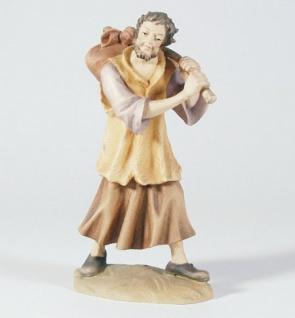 Krippenfigur Hirte mit Bündel Mesner-Krippe 22 cm Krippen Figur Weihnachten