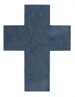 Wandkreuz Schiefer Kreuz 13 x 17 cm schlicht Naturschiefer Kruzifix Christlich