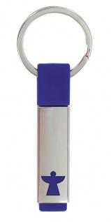 Schlüsselanhänger Schutzengel, Metall Kautschuk Engel Anhänger