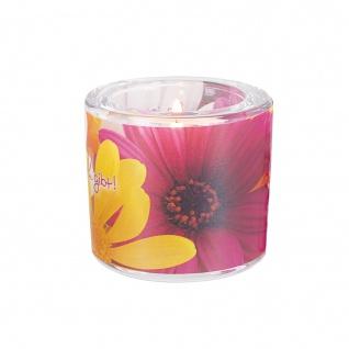 Glaswindlicht So Schön Teelicht Kerzenhalter Geschenkbox Glas für Windlicht - Vorschau 3