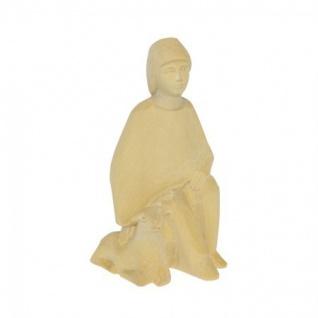 Hirte mit Schaf Bauer-Krippe 17 cm handgeschnitzt Krippen Figur Weihnachten