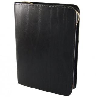 Gotteslobhülle Großdruck Lederfaser Öko-Soft Schwarz Gesangbuch Einband