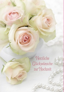 Hochzeit Geld-Geschenkkarte Herzliche Glückwünsche (6 Stck) Grußkarte Kuvert
