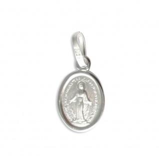 Anhänger Maria Empfängnis 925 Sterlingsilber 1 cm