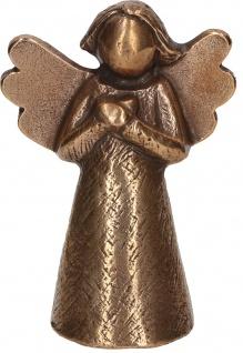 Engel-Figur Weihnachten Bronze Kerstin Stark Segen Aufstell-Skulptur Freude