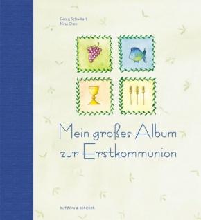 Geschenkalbum Mein großes Album zur Erstkommunion - Vorschau