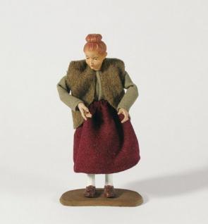 Krippenfigur Mädchen Heimat-Krippe 30 cm