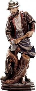 Holzhacker Holzfigur geschnitzt Südtirol Profane Figur