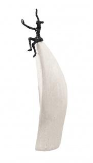 Bronzefigur Lebensfreude 32 cm Bronze Skulptur