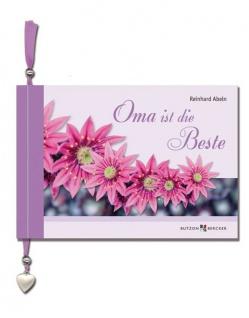 Geschenkbuch Oma ist die Beste, mit Herz-Anhänger Christliche Bücher