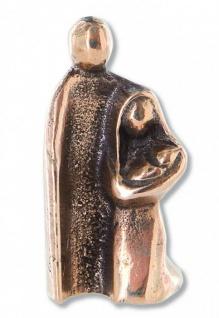 Weihnachtskrippe Heilige Familie Bronze 4, 7 cm Krippen Figuren Weihnachten
