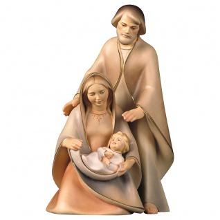 Die Hoffnung 3 Teile Holzfigur geschnitzt Südtirol Krippenfigur