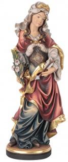 Heilige Ursula Holzfigur geschnitzt Südtirol Schutzpatronin Märtyrerin
