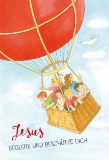 Glückwunschkarte zur Kommunion Jesus begleite und beschütze dich 6 Stück