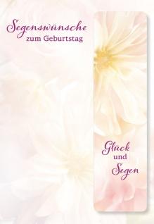 Geburtstagskarte Anselm Grün Metall-Lesezeichen Segenswünsche (5 St) Kuvert