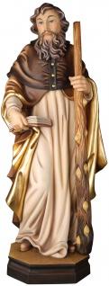 Heiliger Jakobus der Jüngere Holzfigur geschnitzt Südtirol Schutzpatron