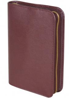Gotteslobhülle Soft-Nappa Weinrot Gesangbuch Reißverschluss Einband Katholisch