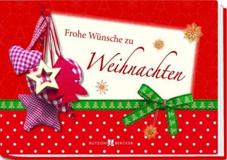 Frohe Wünsche zur Weihnachten Geld-Geschenkbuch Christliche Bücher