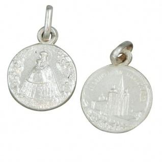 Mariazell Anhänger Silber 925 Madonna mit Kirche Ø 1, 0 cm Schmuckanhänger