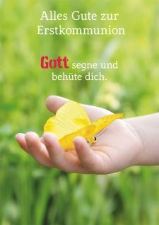 Glückwunschkarte Alles Gute zur Erstkommunion (6 St) Kommunion Grußkarte
