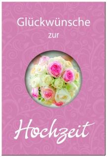 Geldgeschenkheft Glückwünsche zur Hochzeit Geschenkbuch zur Hochzeit