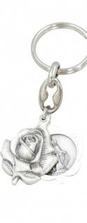 Schlüsselanhänger Rose Miraculosa 8 cm Christlich