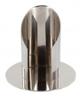 Kerzenständer Messing silber vernickelt Kerzen Ø 5 cm Kerzenhalter Kommunion