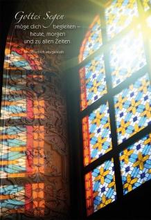 Grußkarte Gottes Segen Friedrich Morgenroth Grußkarte (6 Stück mit Kuvert)