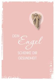 Grusskarte Dein Engel schenke Dir Engel Bronze (5 St) Kuvert Kerstin Stark