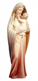 Marienstatue Maria mit Kind Holz, geschnitzt bemalt