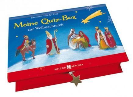 Geschenkbox mit 48 Quizkarten Mein Quiz-Box zur Weihnachtszeit