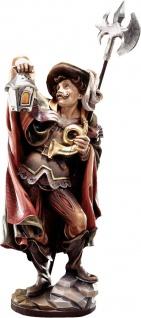 Nachtwächter Holzfigur geschnitzt Südtirol Profane Figur