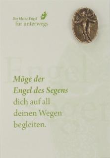 Engel des Segens Bronzeplakette mit Kärtchen Schutzengel Geschenke