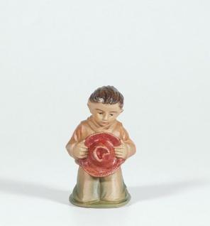 Tiroler Krippe Junge bunt handbemalt 15 cm Krippen Figur Weihnachten - Vorschau