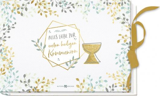 Geschenkbuch Alles Liebe zur ersten heiligen Kommunion Gutschein Geldgeschenk