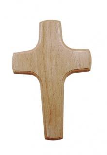 Wandkreuz Holzkreuz Buche Kruzifix Kreuz 20 cm Christoph Fischbach schlicht