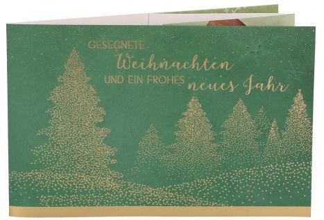 Grußkarte Martin Luther King Teelichtkarte Gesegnete Weihnachten (5 Stück)