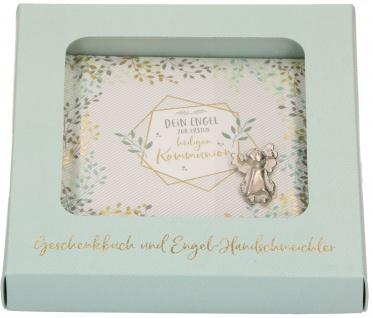 Geschenkset Dein Engel zur ersten heiligen Kommunion Geschenkbuch Engel Metall - Vorschau