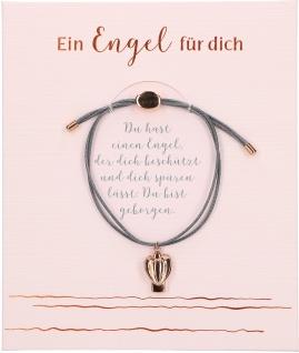 Schutzengel Armband Ein Engel für dich mit Engel Anhänger aus Metall