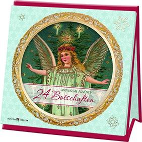24 himmlische Adventsbotschaften Geschenkbuch Eva Dicks