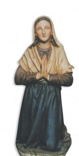 Heilige Bernadette wetterfest (zu Lourdes 60 cm)